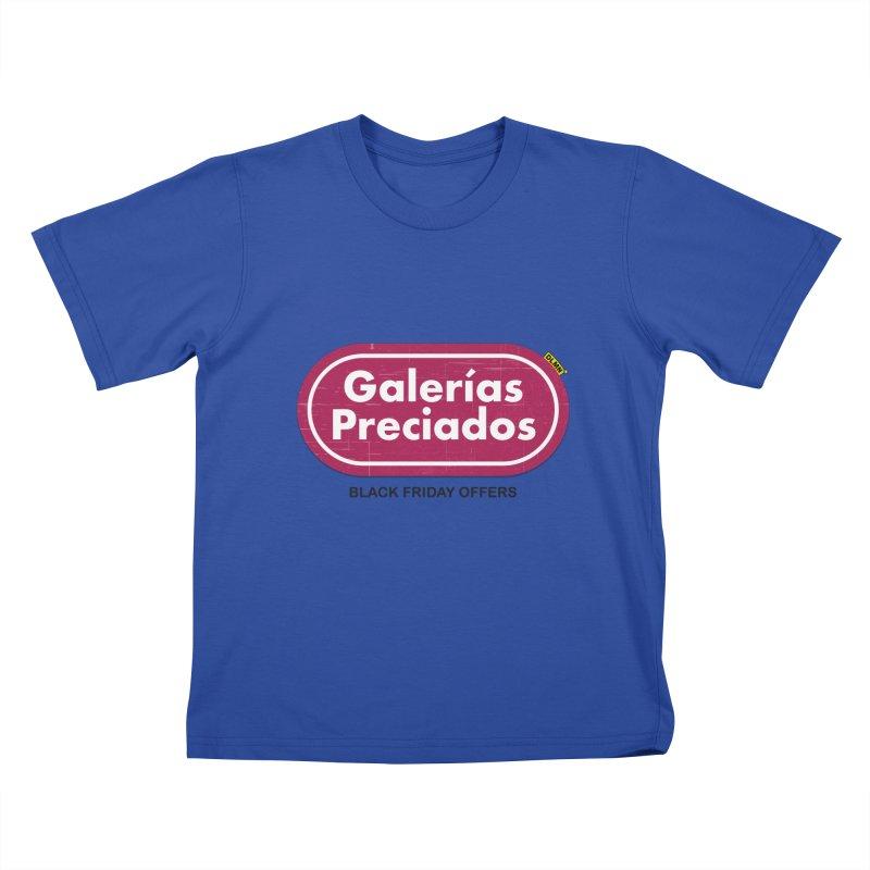 Galerías Preciados Kids T-Shirt by mrdelman's Artist Shop