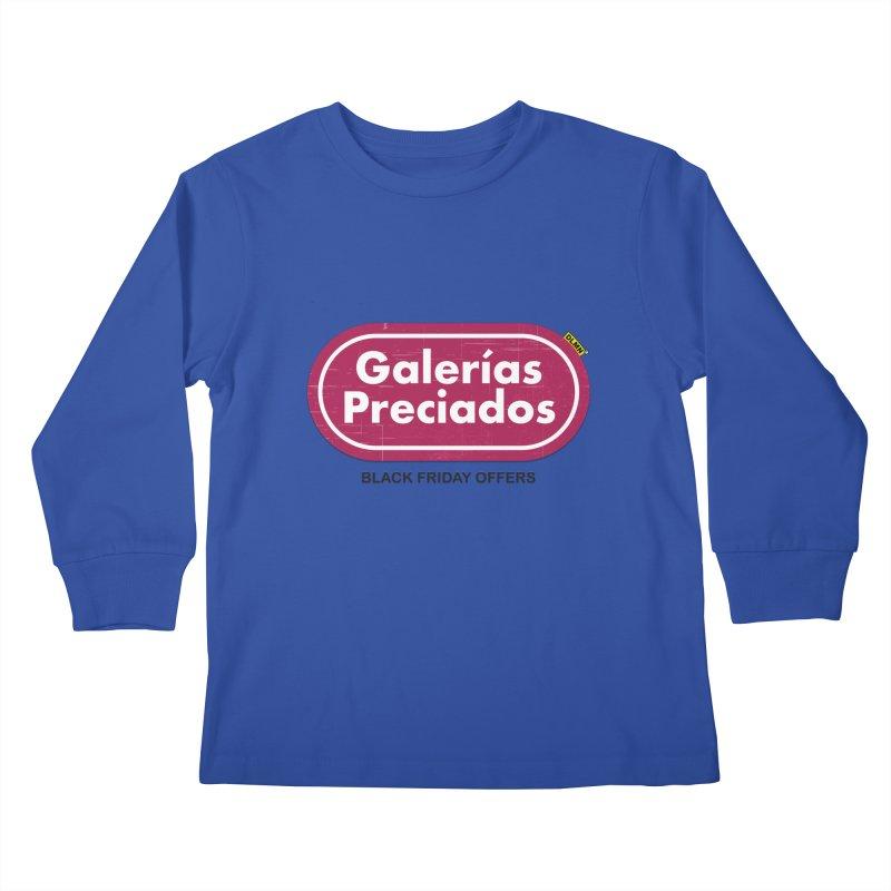 Galerías Preciados Kids Longsleeve T-Shirt by mrdelman's Artist Shop