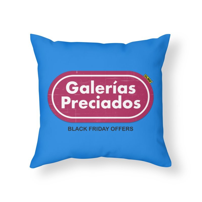 Galerías Preciados Home Throw Pillow by mrdelman's Artist Shop