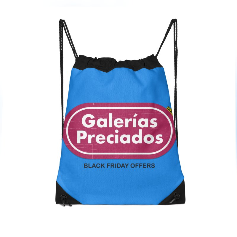 Galerías Preciados Accessories Drawstring Bag Bag by mrdelman's Artist Shop