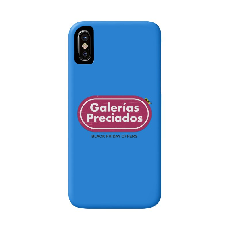 Galerías Preciados Accessories Phone Case by mrdelman's Artist Shop