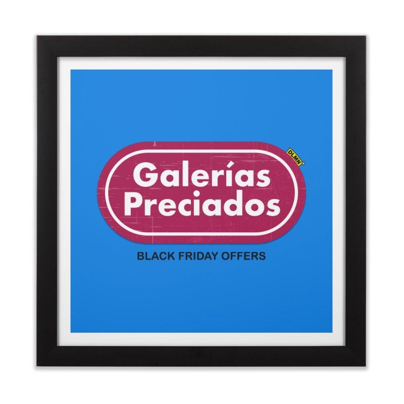 Galerías Preciados Home Framed Fine Art Print by mrdelman's Artist Shop