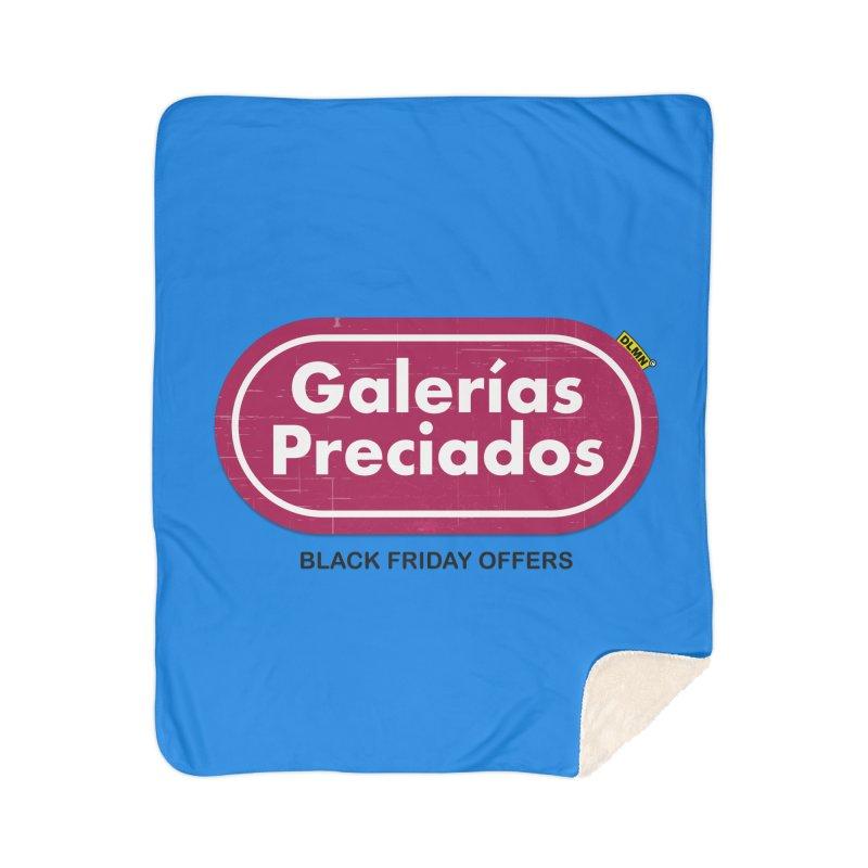 Galerías Preciados Home Sherpa Blanket Blanket by mrdelman's Artist Shop
