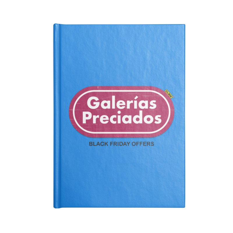 Galerías Preciados Accessories Lined Journal Notebook by mrdelman's Artist Shop
