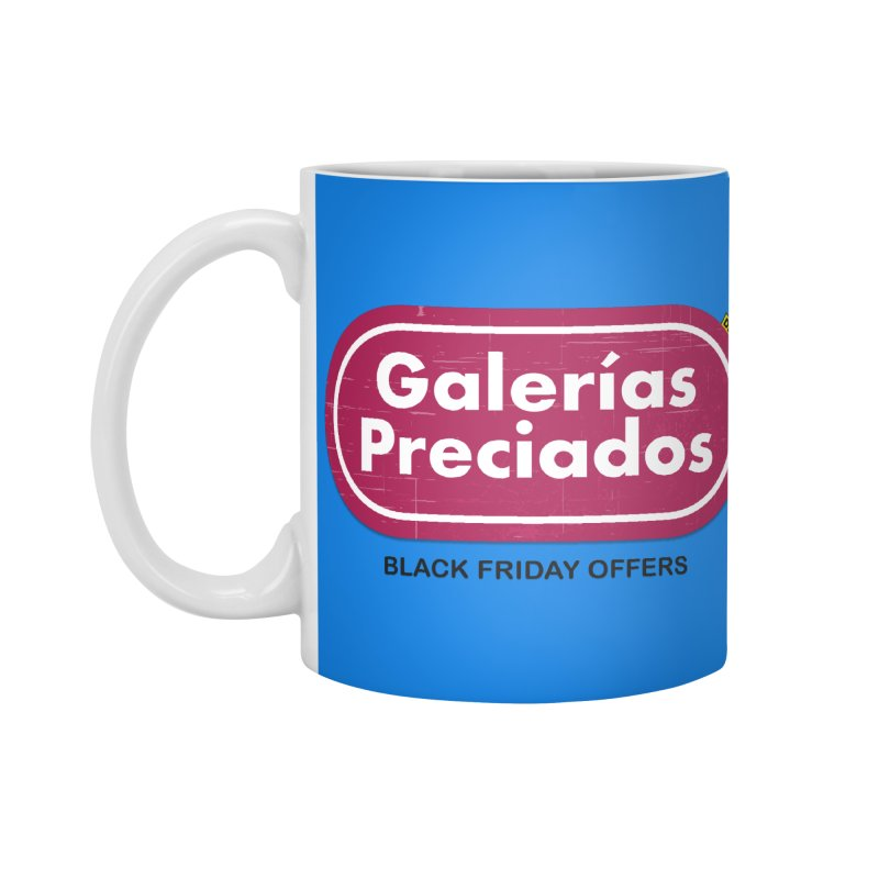 Galerías Preciados Accessories Mug by mrdelman's Artist Shop