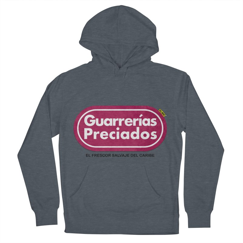 Guarrerías Preciados Women's French Terry Pullover Hoody by mrdelman's Artist Shop