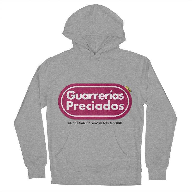Guarrerías Preciados Men's French Terry Pullover Hoody by mrdelman's Artist Shop