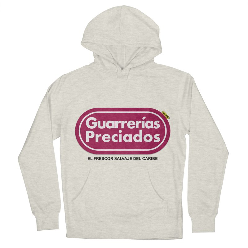 Guarrerías Preciados Men's French Terry Pullover Hoody by mrdelman's Artist Shop