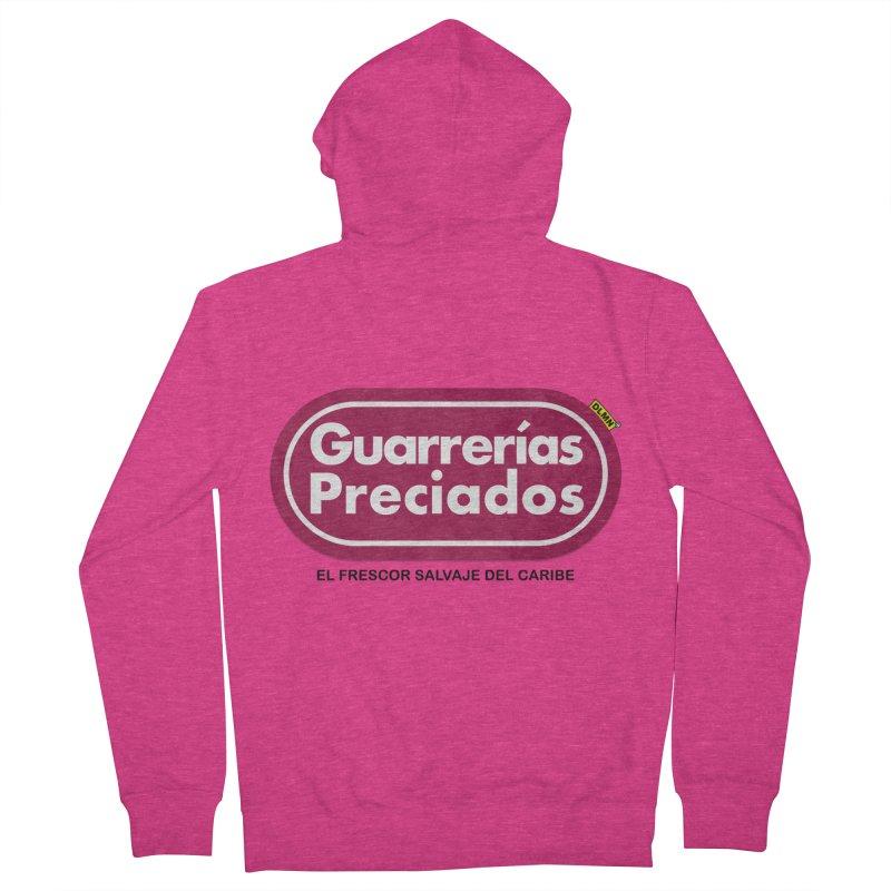Guarrerías Preciados Women's French Terry Zip-Up Hoody by mrdelman's Artist Shop
