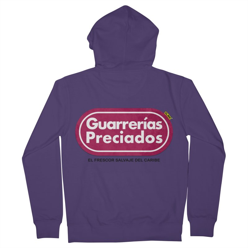 Guarrerías Preciados Women's French Terry Zip-Up Hoody by mrdelman's Artist Shop
