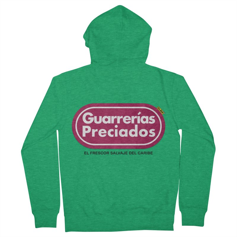 Guarrerías Preciados Men's Zip-Up Hoody by mrdelman's Artist Shop