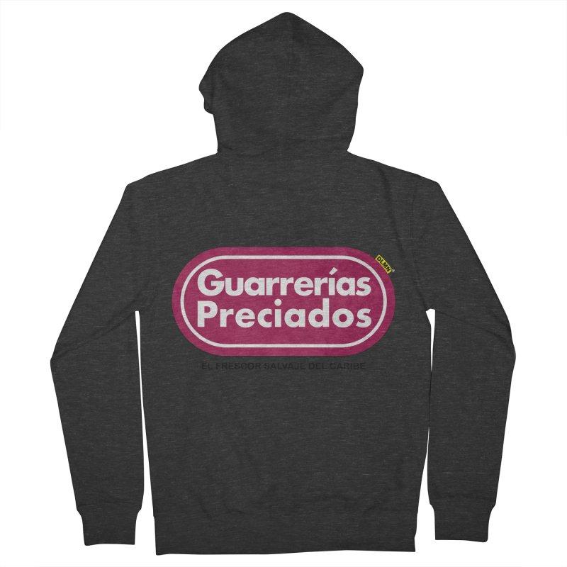 Guarrerías Preciados Men's Zip-Up Hoody by mrdelman's Artist Shop