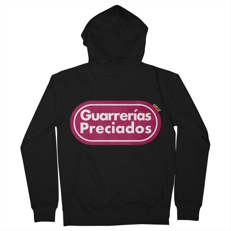 Guarrerías Preciados Men's French Terry Zip-Up Hoody by mrdelman's Artist Shop