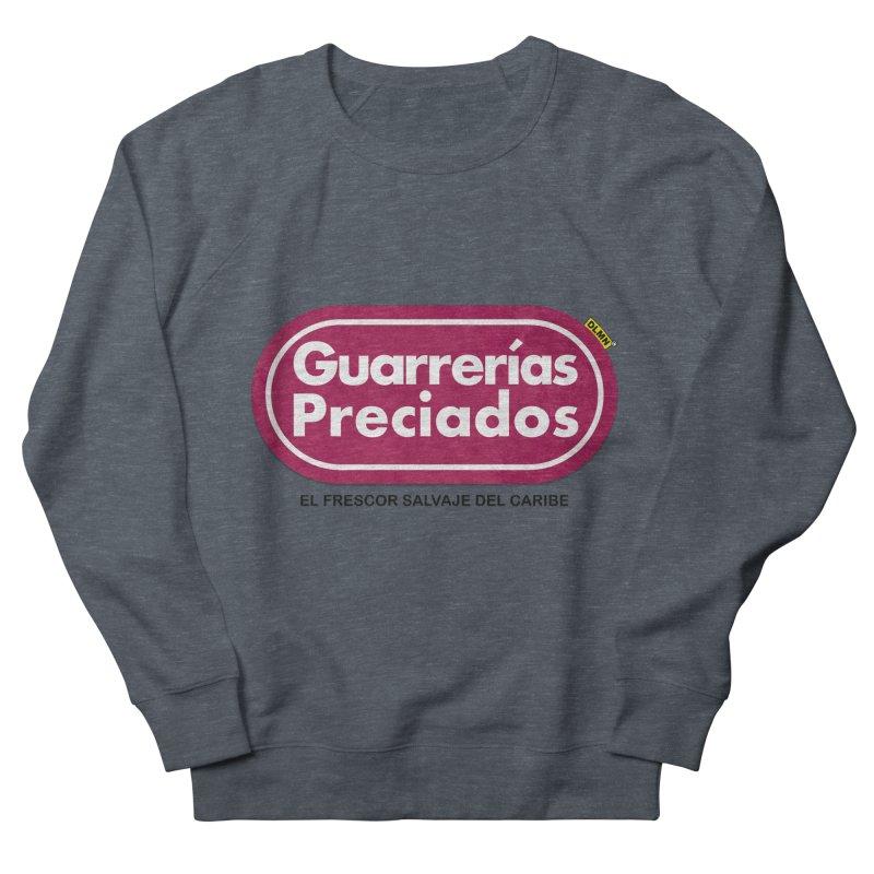 Guarrerías Preciados Men's French Terry Sweatshirt by mrdelman's Artist Shop