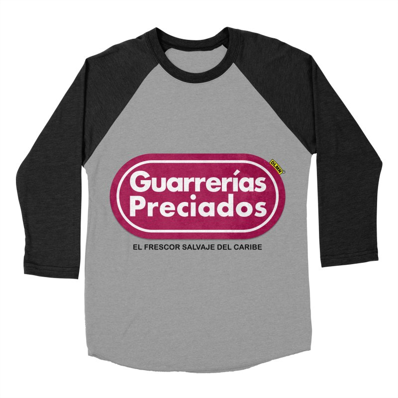 Guarrerías Preciados Women's Baseball Triblend Longsleeve T-Shirt by mrdelman's Artist Shop