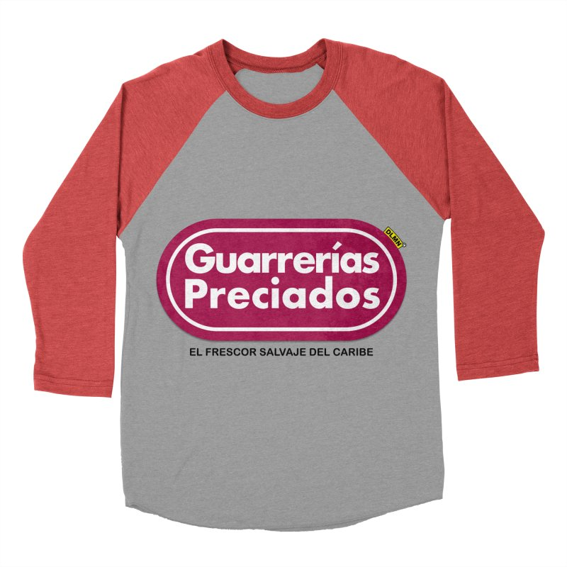 Guarrerías Preciados Men's Baseball Triblend Longsleeve T-Shirt by mrdelman's Artist Shop