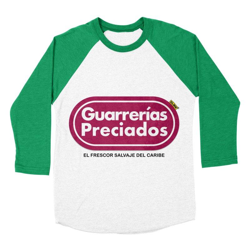 Guarrerías Preciados Men's Baseball Triblend Longsleeve T-Shirt by mrdelman's Artist Shop