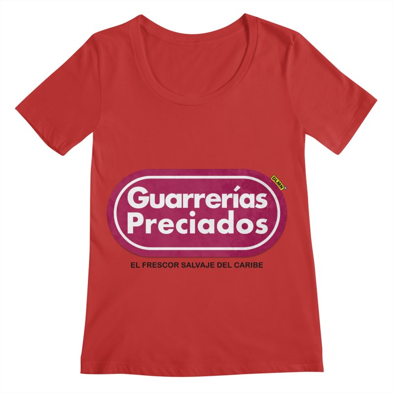 Guarrerías Preciados Women's Regular Scoop Neck by mrdelman's Artist Shop