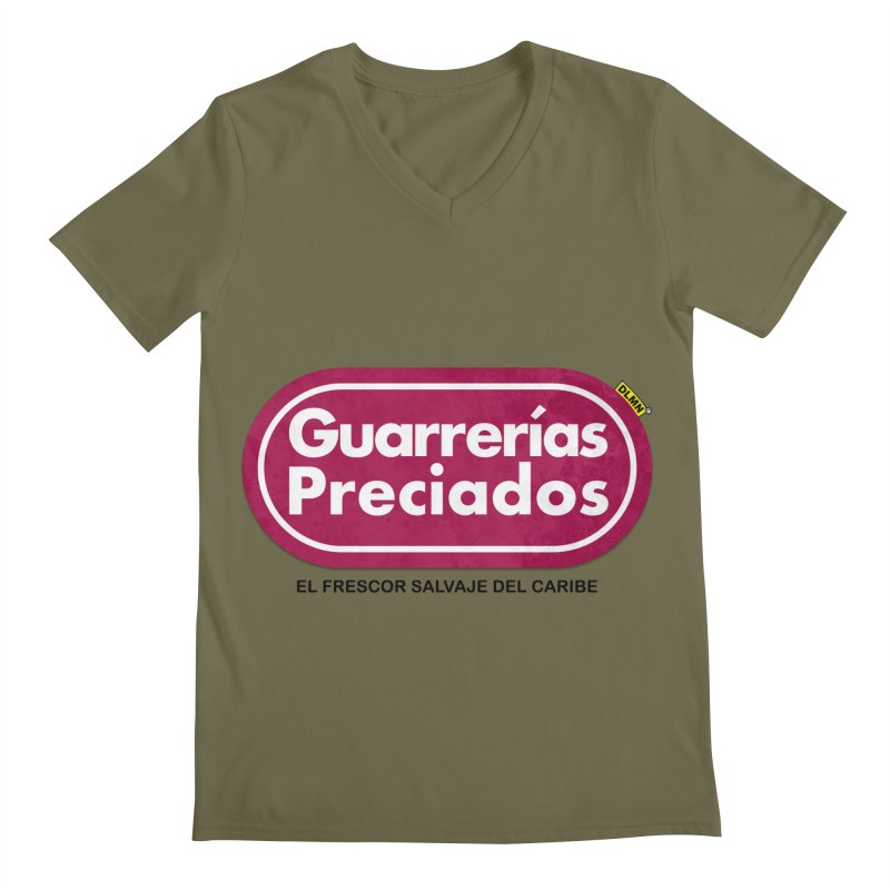 Guarrerías Preciados Men's Regular V-Neck by mrdelman's Artist Shop