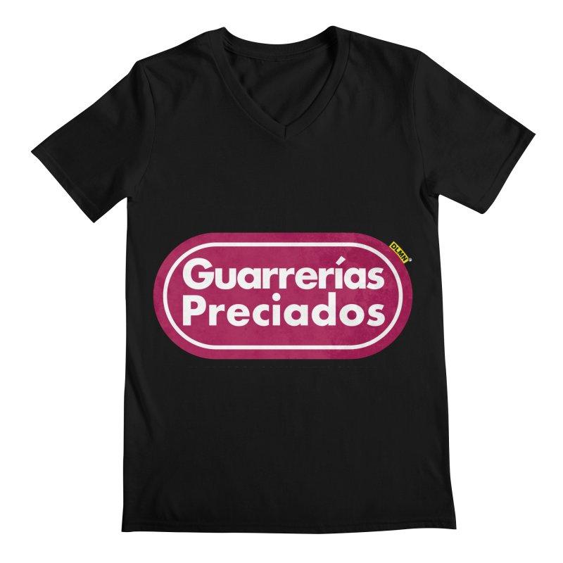 Guarrerías Preciados Men's V-Neck by mrdelman's Artist Shop