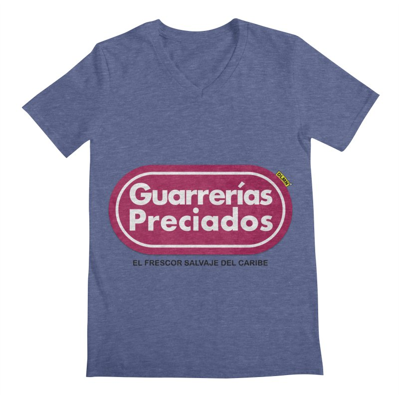 Guarrerías Preciados Men's V-Neck by mrdelman's Artist Shop