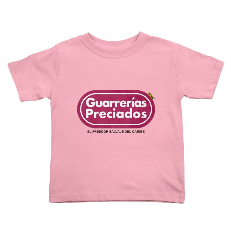 Guarrerías Preciados Kids Toddler T-Shirt by mrdelman's Artist Shop