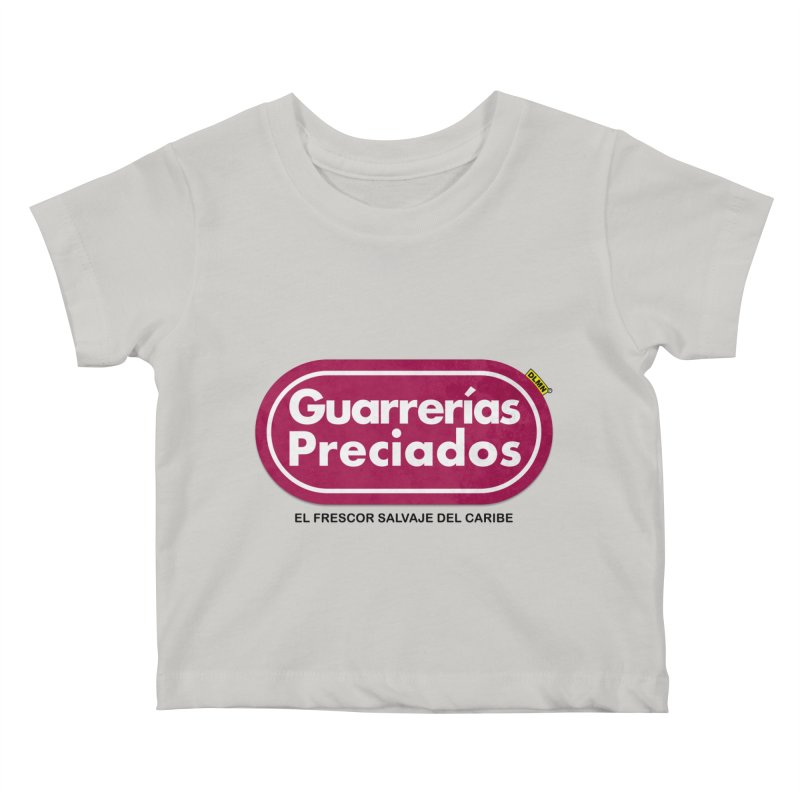 Guarrerías Preciados Kids Baby T-Shirt by mrdelman's Artist Shop