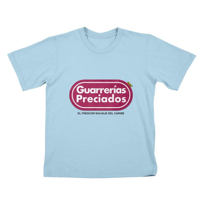 Guarrerías Preciados Kids T-Shirt by mrdelman's Artist Shop