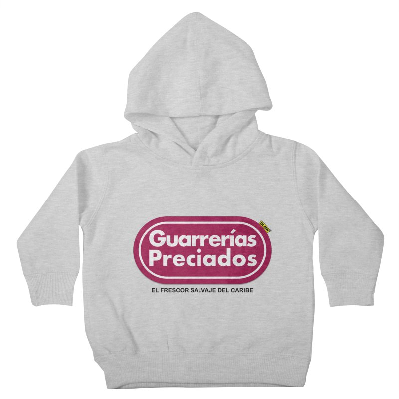 Guarrerías Preciados Kids Toddler Pullover Hoody by mrdelman's Artist Shop