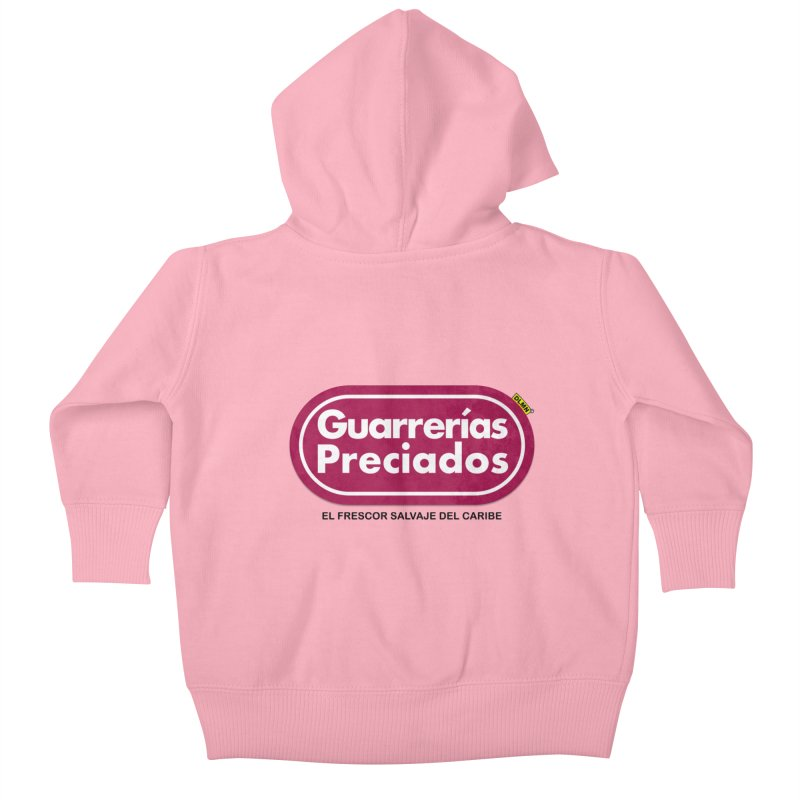 Guarrerías Preciados Kids Baby Zip-Up Hoody by mrdelman's Artist Shop