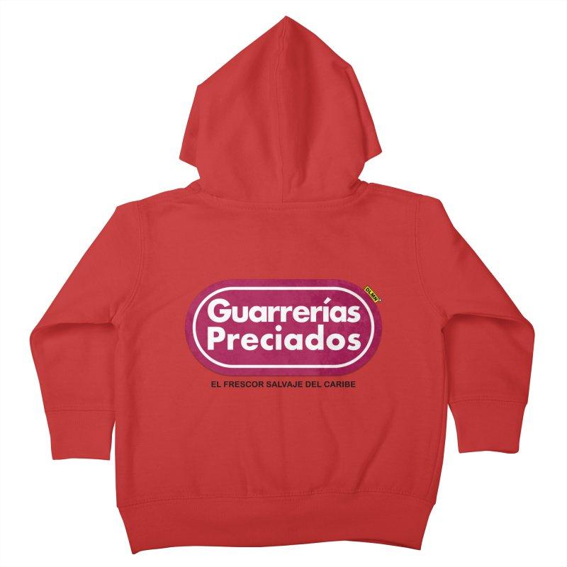 Guarrerías Preciados Kids Toddler Zip-Up Hoody by mrdelman's Artist Shop