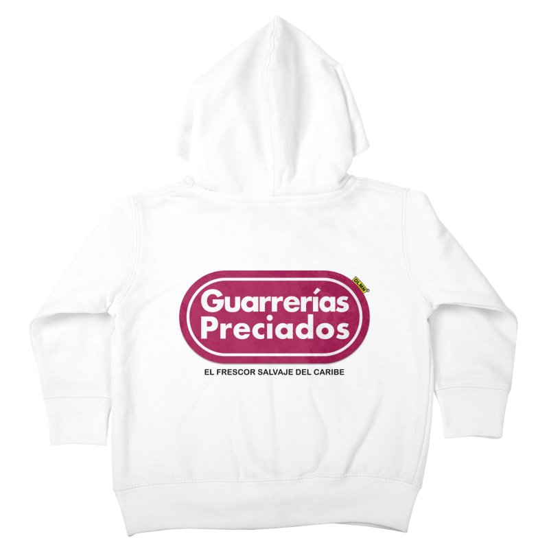 Guarrerías Preciados Kids Toddler Zip-Up Hoody by mrdelman's Artist Shop