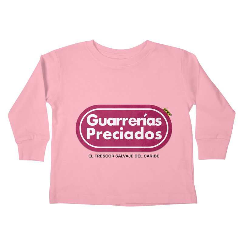 Guarrerías Preciados Kids Toddler Longsleeve T-Shirt by mrdelman's Artist Shop