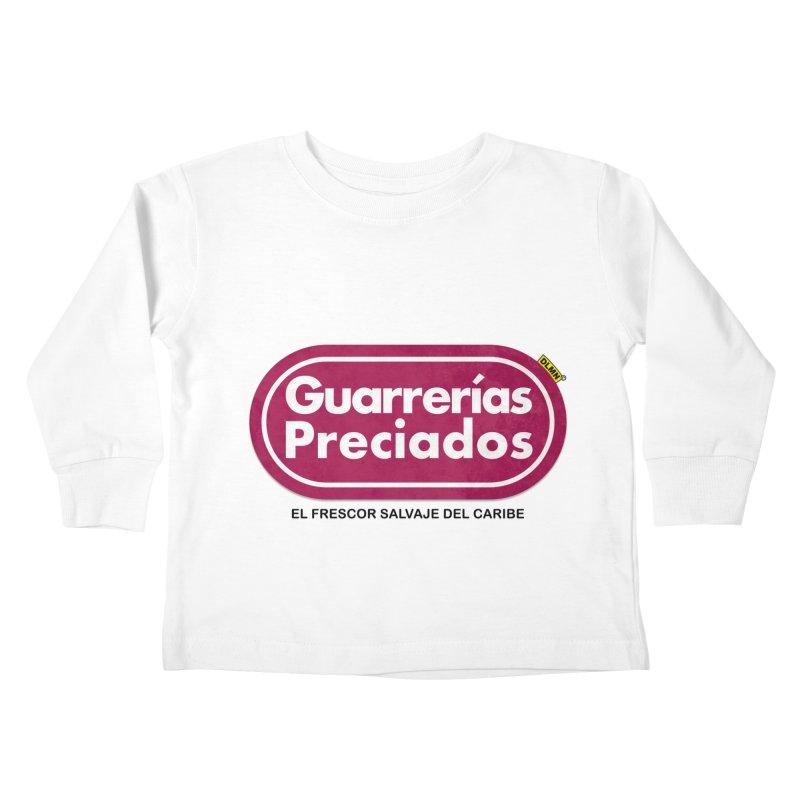 Guarrerías Preciados Kids Toddler Longsleeve T-Shirt by mrdelman's Artist Shop