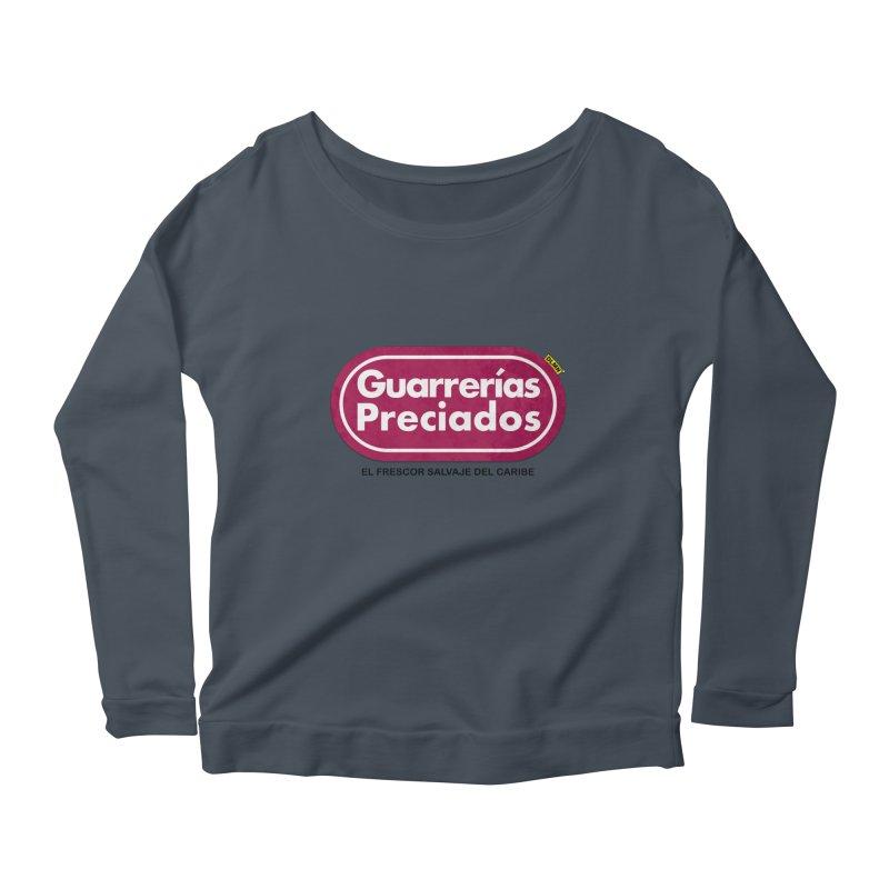 Guarrerías Preciados Women's Scoop Neck Longsleeve T-Shirt by mrdelman's Artist Shop
