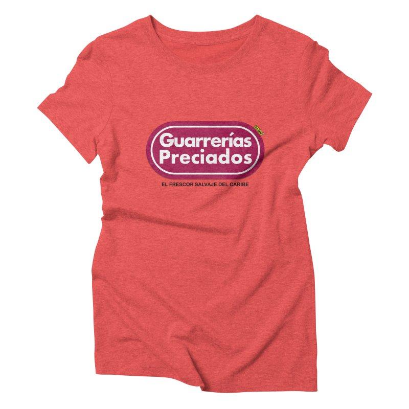 Guarrerías Preciados Women's Triblend T-Shirt by mrdelman's Artist Shop