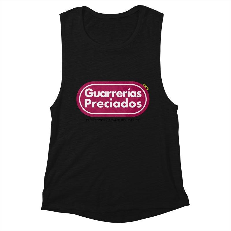 Guarrerías Preciados Women's Muscle Tank by mrdelman's Artist Shop