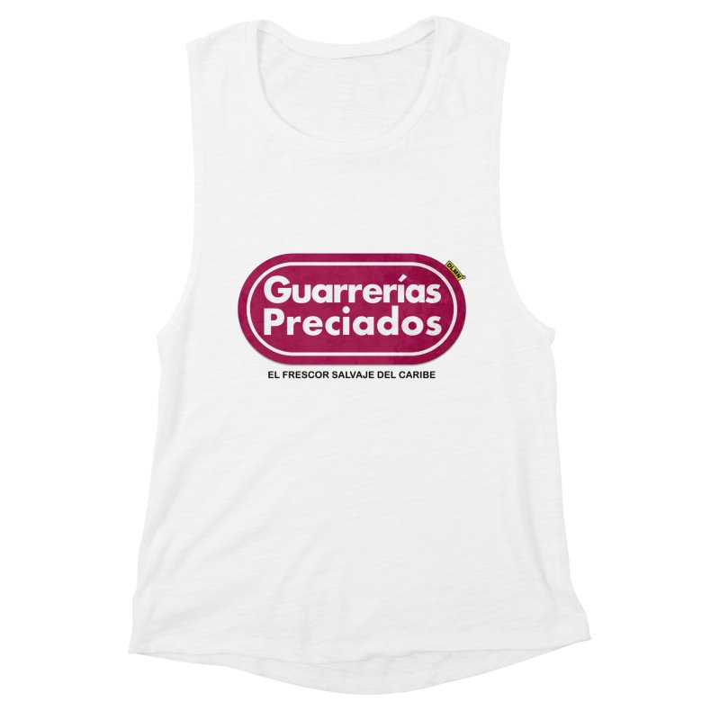 Guarrerías Preciados Women's Muscle Tank by mrdelman's Artist Shop