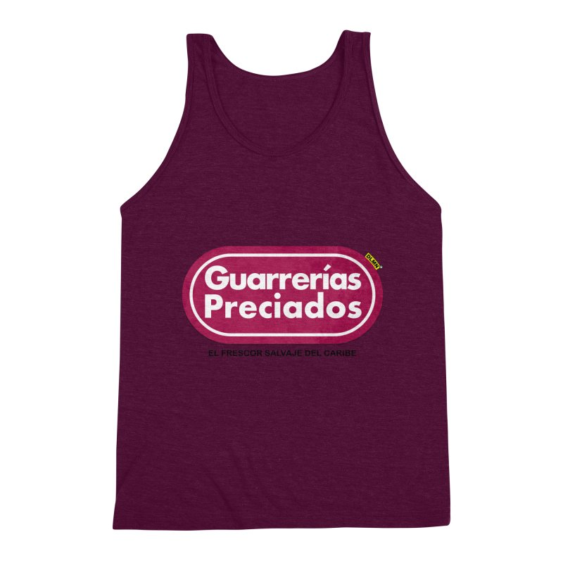 Guarrerías Preciados Men's Triblend Tank by mrdelman's Artist Shop