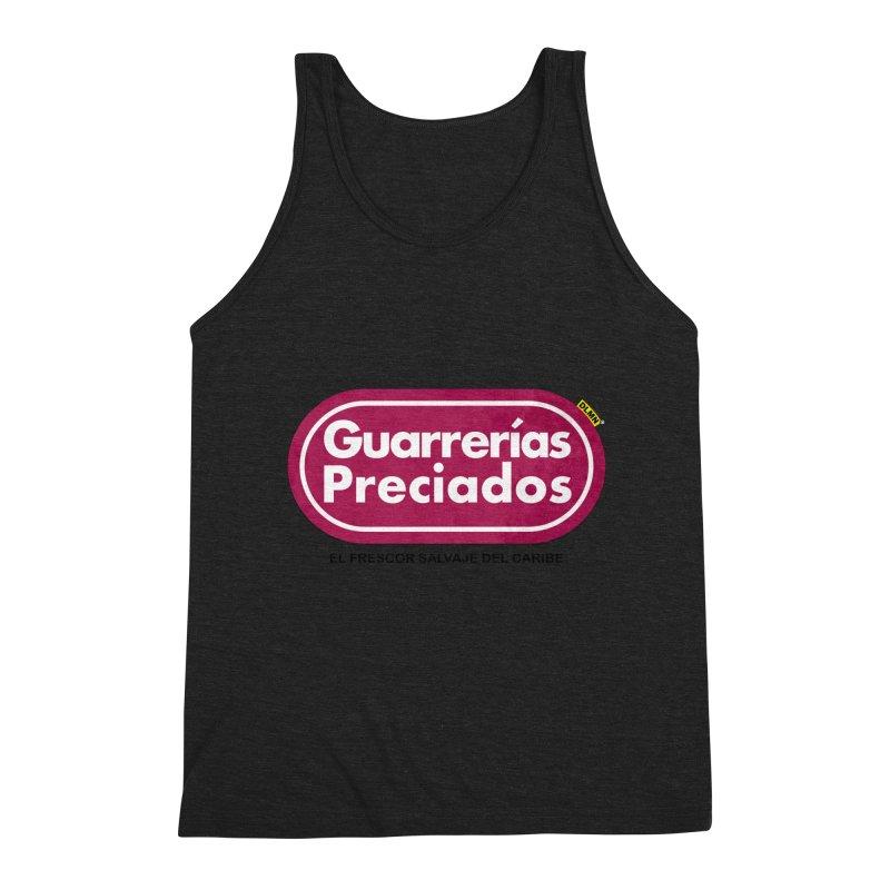 Guarrerías Preciados Men's Triblend Tank by mrdelman's Artist Shop