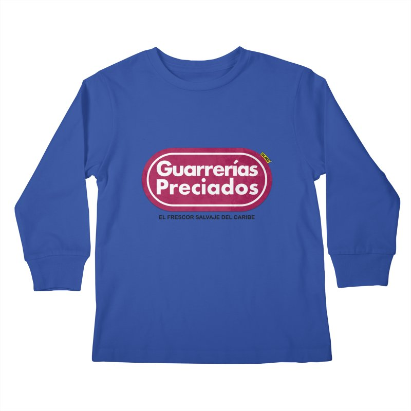 Guarrerías Preciados Kids Longsleeve T-Shirt by mrdelman's Artist Shop
