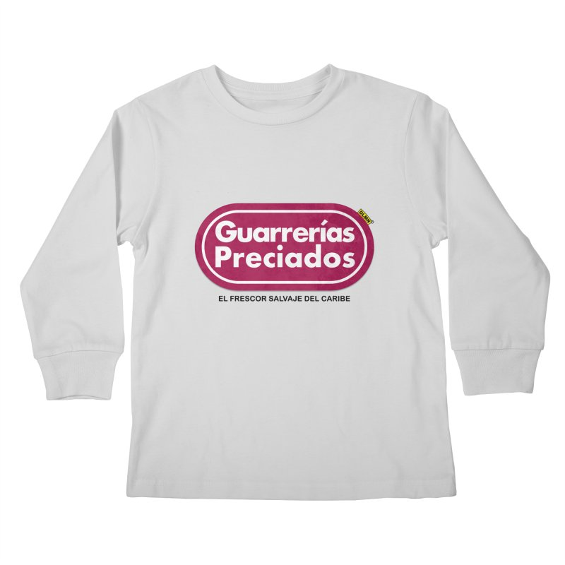 Guarrerías Preciados Kids Longsleeve T-Shirt by mrdelman's Artist Shop