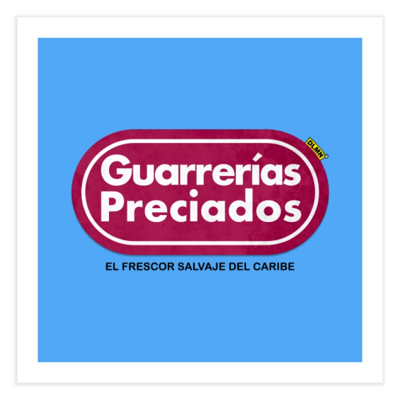 Guarrerías Preciados Home Fine Art Print by mrdelman's Artist Shop