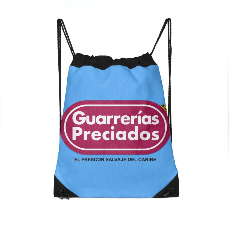 Guarrerías Preciados Accessories Drawstring Bag Bag by mrdelman's Artist Shop