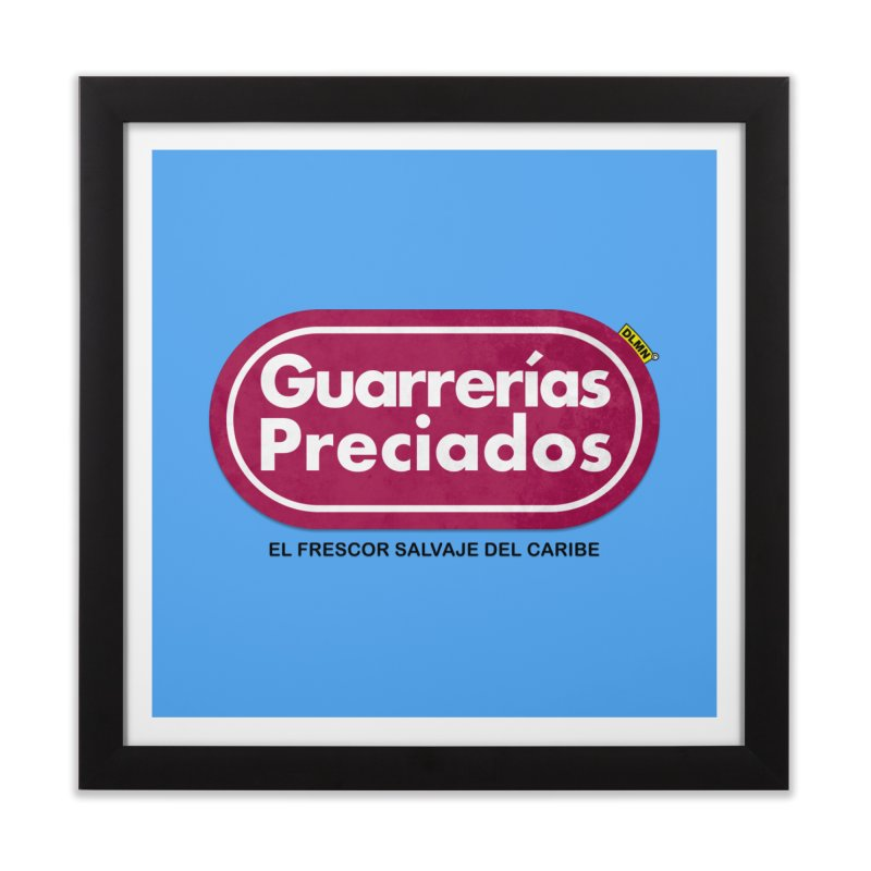 Guarrerías Preciados Home Framed Fine Art Print by mrdelman's Artist Shop
