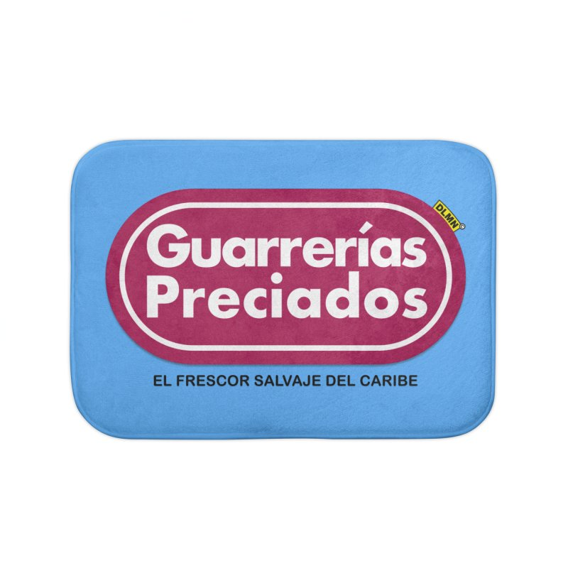 Guarrerías Preciados Home Bath Mat by mrdelman's Artist Shop