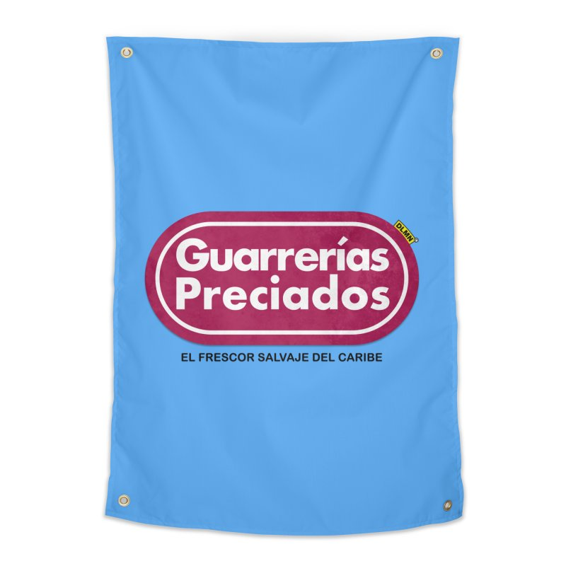 Guarrerías Preciados Home Tapestry by mrdelman's Artist Shop