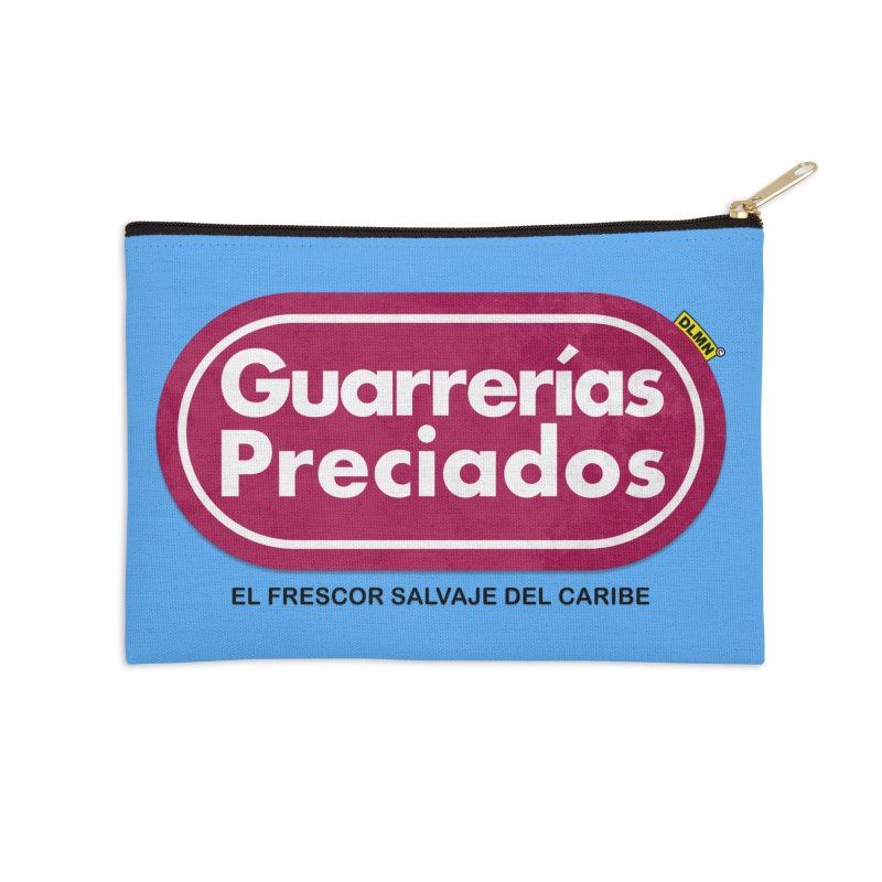 Guarrerías Preciados Accessories Zip Pouch by mrdelman's Artist Shop