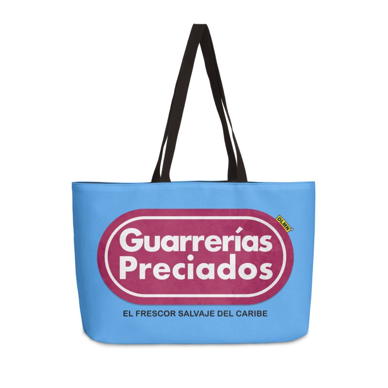 Guarrerías Preciados Accessories Weekender Bag Bag by mrdelman's Artist Shop