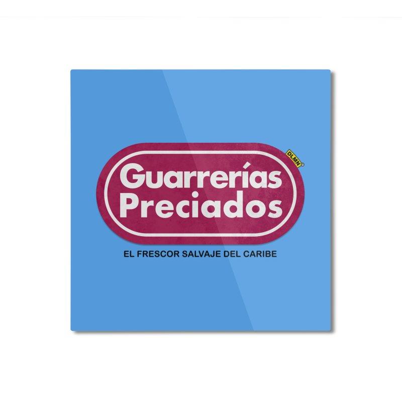 Guarrerías Preciados Home Mounted Aluminum Print by mrdelman's Artist Shop